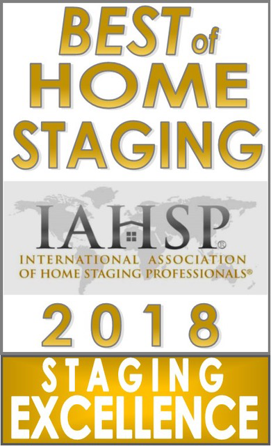 International Association of Home Staging Professionals 2018 Staging Excellence Award