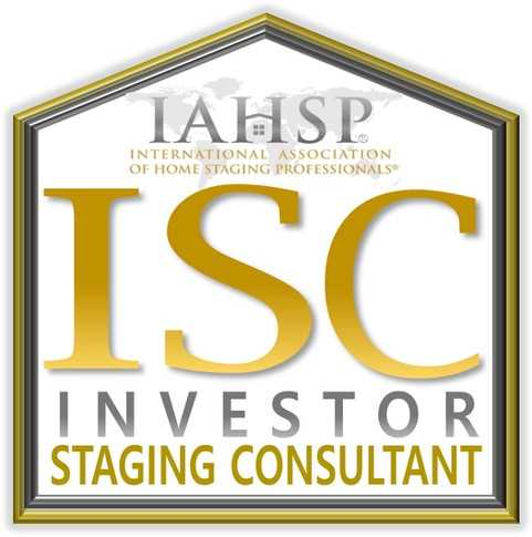 International Association of Home Staging Professionals Investor Staging Consultant Accreditation.